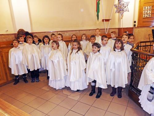 Karácsonyi hangversenyünk a református templomban 2018