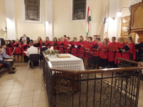 Betlehemes a templomban, 2019. 12. 20.